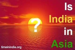 Is India in Asia