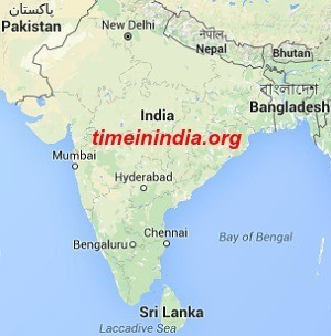 Where is India